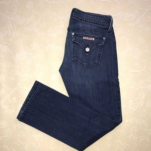 Hudson Cropped Jeans.